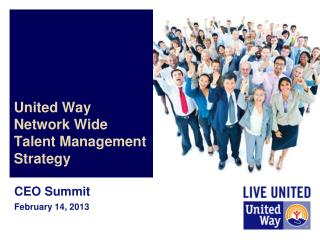 United Way  Network Wide Talent Management  Strategy