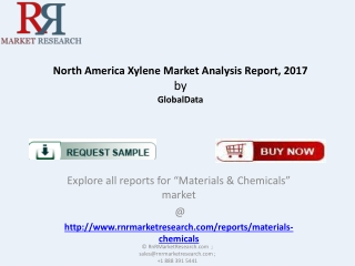 North America Xylene Market Analysis Report 2017