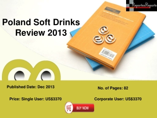 Poland Soft Drinks Industry Forecast Research Report 2016
