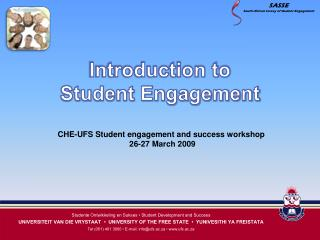 introduction to  student engagement