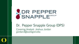 Dr. Pepper Snapple Group DPS