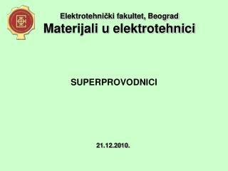 SUPERPROVODNICI