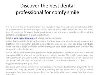 bend implant dentist
