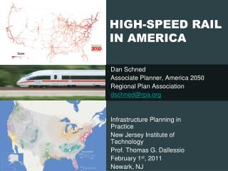 HIGH-SPEED RAIL IN AMERICA