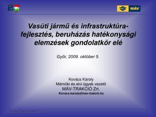 Magyar  llamvasutak ZRt.