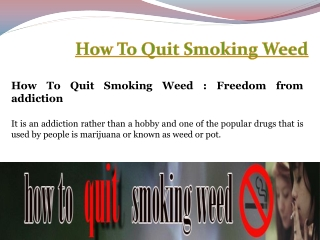 Best Way To Quit Smoking