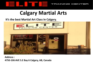 Martial Arts Classes Calgary