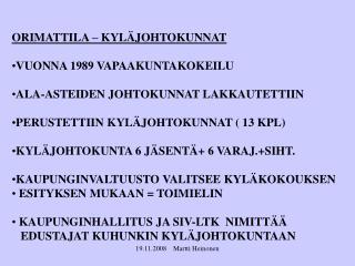 19.11.2008    Martti Heinonen