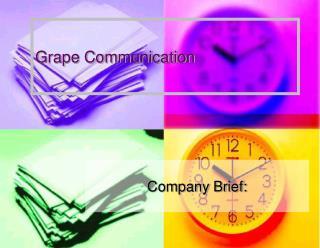 Grape Communication