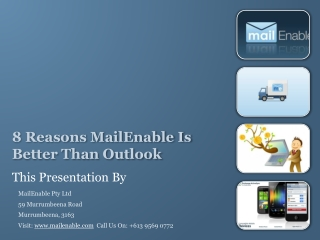 8 Reasons MailEnable Is Better Than Outlook