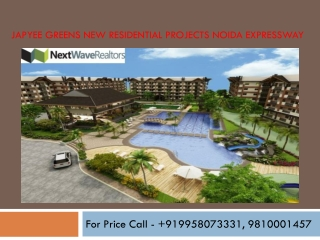 Jaypee Greens Projects Yamuna Expressway