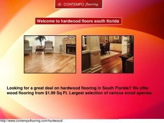 hardwood flooring south florida