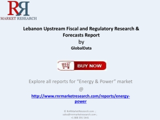 Lebanon Upstream Fiscal and Regulatory Research