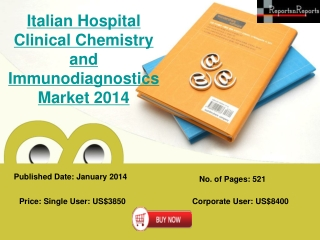 Analysis of Clinical Chemistry