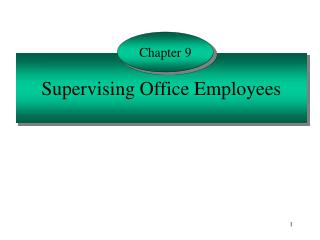 Supervising Office Employees