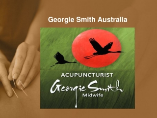 Accupuncture - Georgie Smith