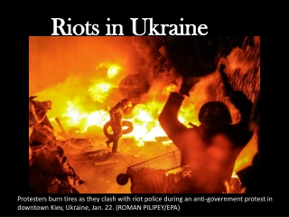 Riots in Ukraine