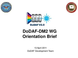 DoDAF-DM2 WG Orientation Brief