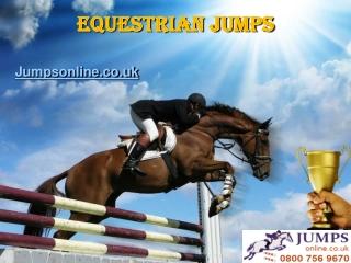 Equestrian jumps