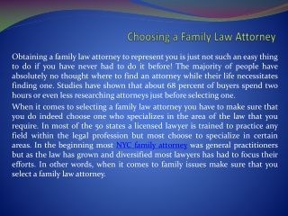 New York family attorney