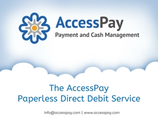 Paperless Direct Debit Service in UK