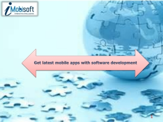 Get latest mobile apps with software development