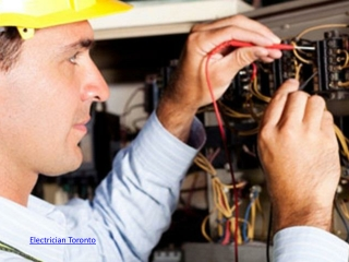 Electrician North york