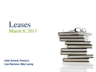 Leases  March 8, 2011