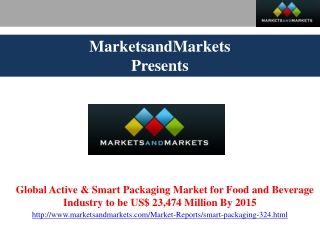 Smart Packaging Market.