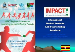 International  Medical Products  Anti-Counterfeiting  Taskforce
