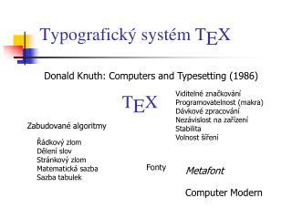 Typografick  syst m TEX