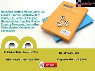 Rotavirus Testing Industry in US ,Europe
