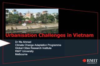 Urbanisation Challenges in Vietnam