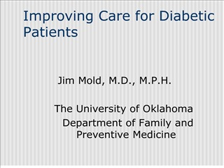 improving care for diabetic patients