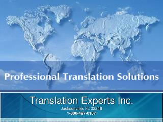 Translation Experts Inc.