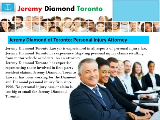 Jeremy Diamond Toronto
