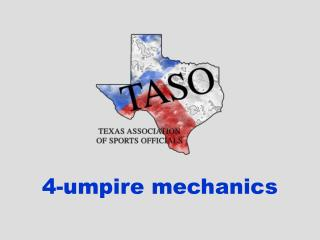 4-umpire mechanics