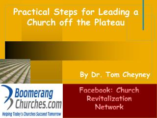 Practical Steps for Leading a Church off the Plateau
