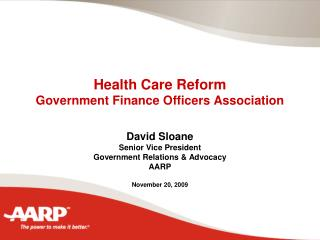 Health Care Reform  Government Finance Officers Association