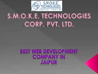 Web Development Company Jaipur