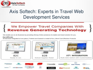Axis Softech: Experts in Travel Web Development Services