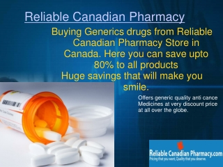 Online Pharmacy - Source for Generic Medications