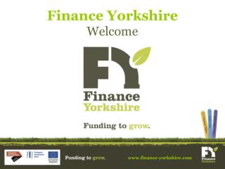 Finance Yorkshire Welcome