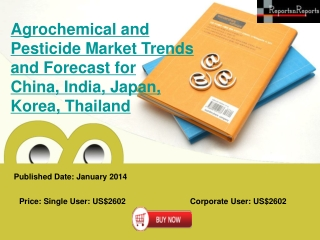 Agrochemical and Pesticide Market Trends and Forecast for Ch