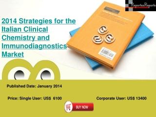 Italian Clinical Chemistry and Immunodiagnostics Market Str