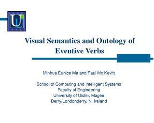 Visual Semantics and Ontology of Eventive Verbs