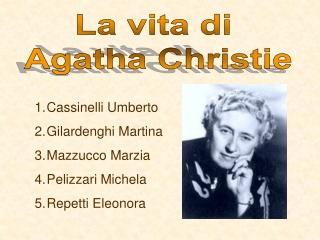 La vita di Agata Christie