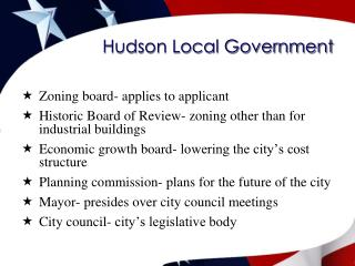 Hudson Local Government