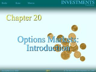 Options Markets: Introduction