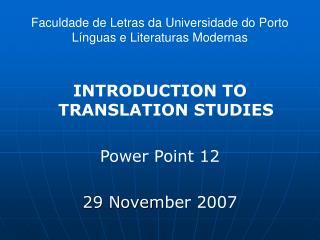 Faculdade de Letras da Universidade do Porto L nguas e Literaturas Modernas